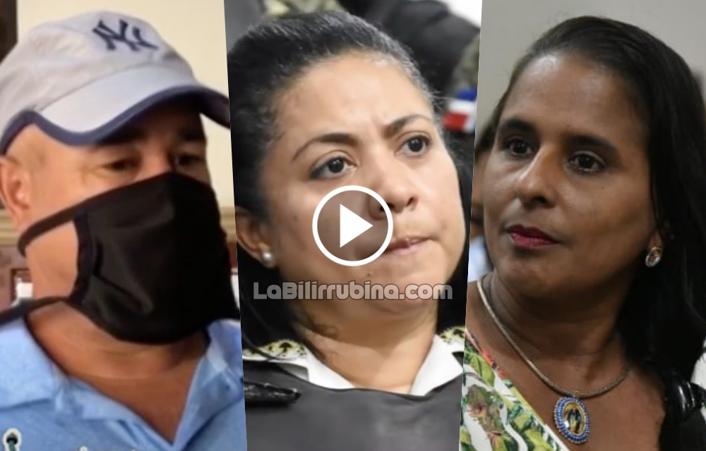 Genaro Peguero, Marlin Martínez y Adalgisa Polanco