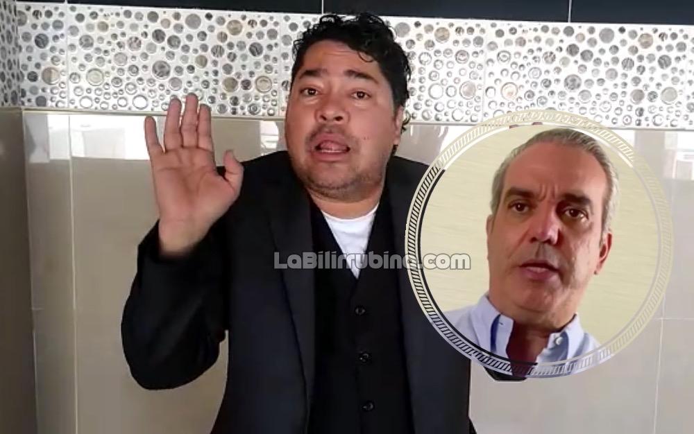 """Frederick Martínez """"El Pachá"""" / Luis Abinader"""