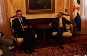 Danilo Medina y Luis Abinader