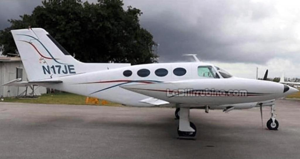 La avioneta matrícula N17JE