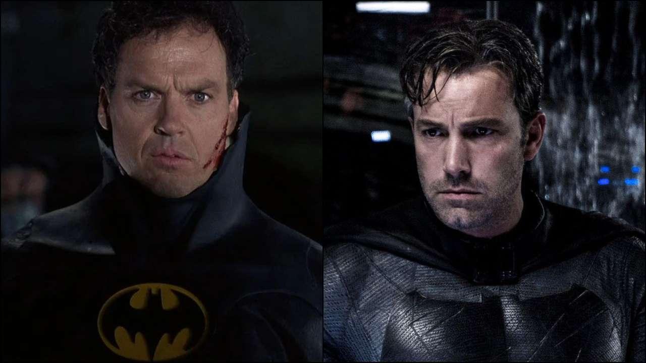 Michael Keaton y Ben Affleck