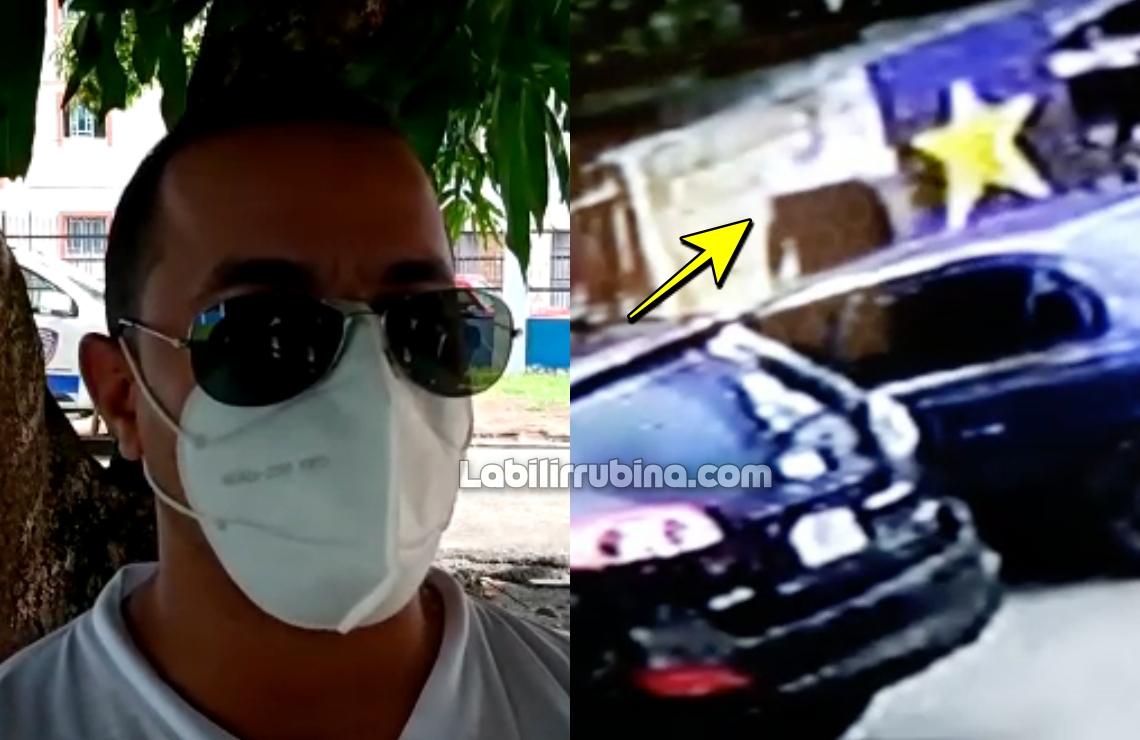 Manuel Brito Figueroa y el hombre que disparó contra su vehículo