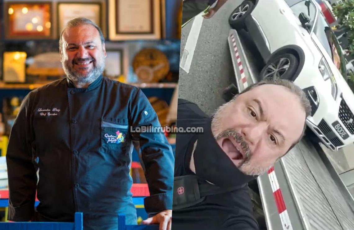 El chef Leandro Díaz