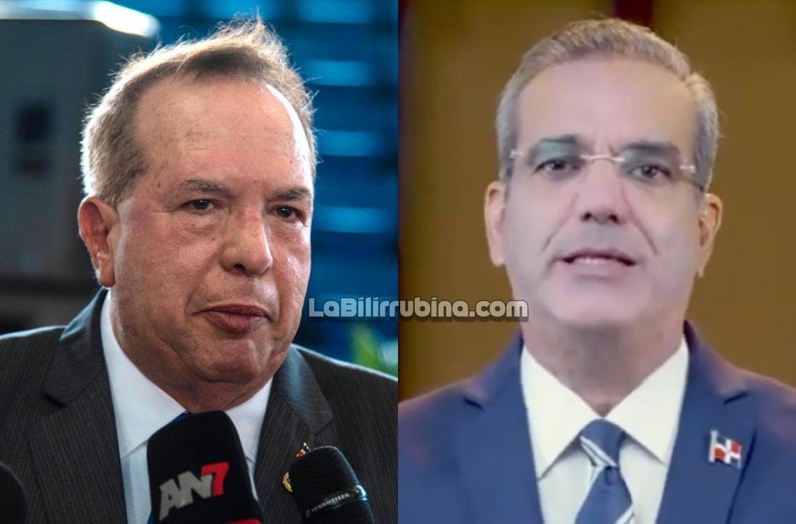 Hugo Álvarez y Luis Abinader