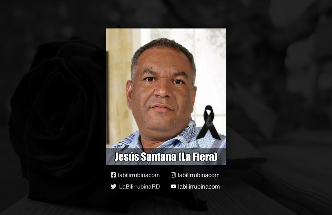 locutor Jesús Santana (La Fiera)