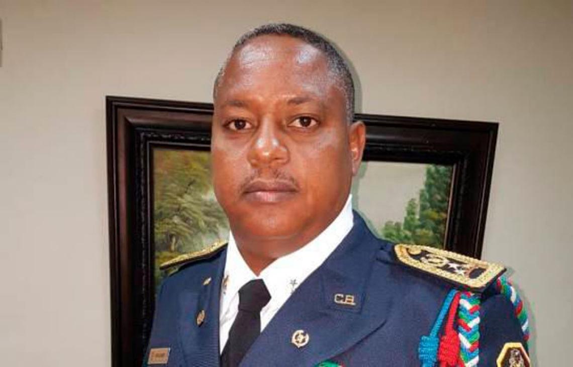 General José Luis Frómeta Herasme, jefe de los Bomberos