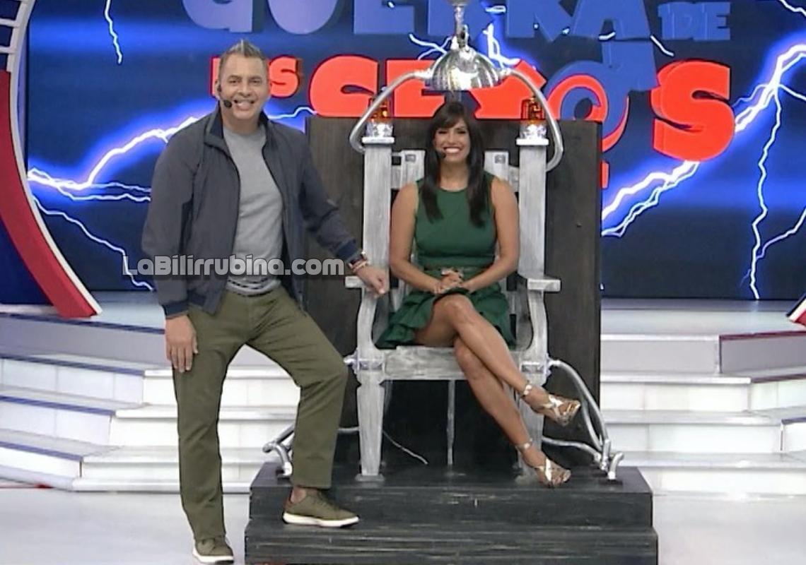 Daniel Sarcos y Lizbeth Santos