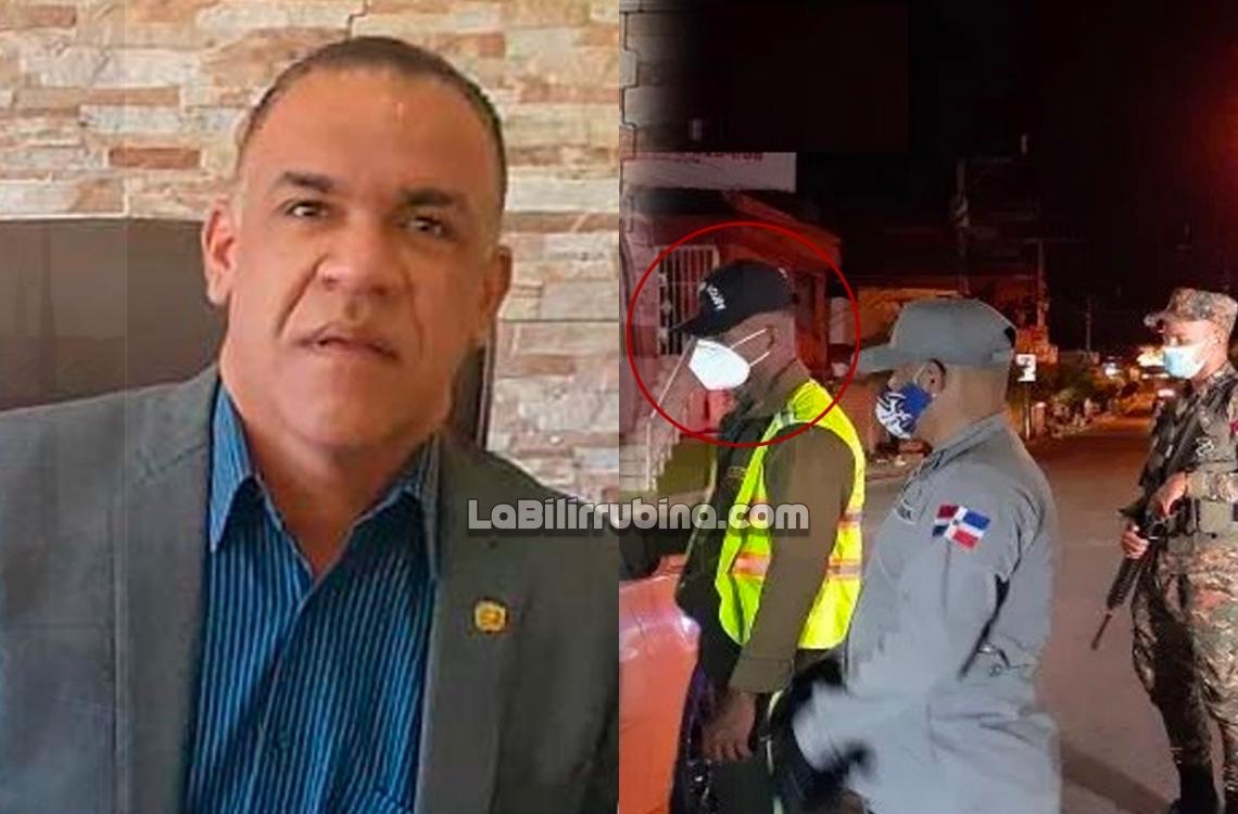 el alcalde del municipio de Sabana Larga, Milton Brea (Petro)