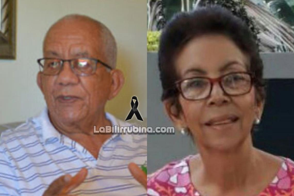 Práxedes Alcántara y Rosa María Mora