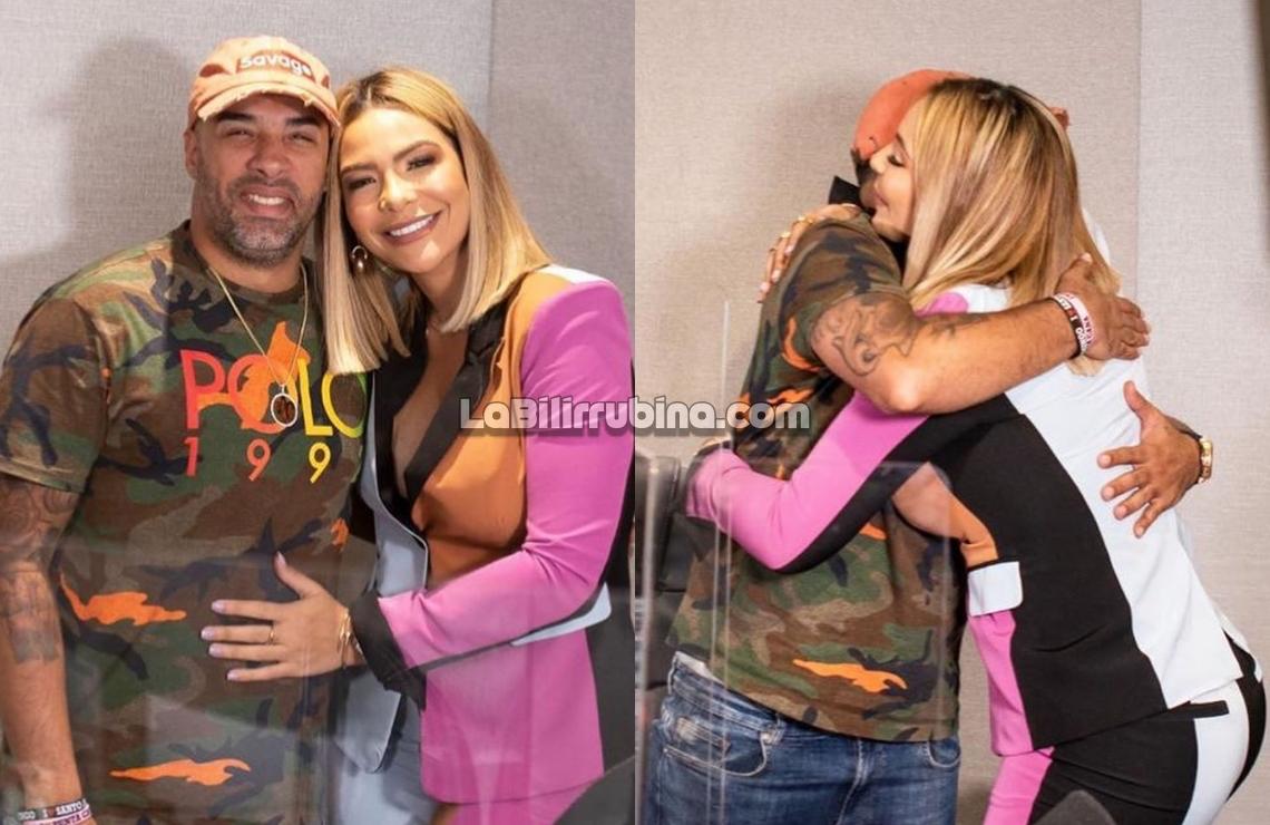 Sandra Berrocal y DJ Nabil se dan el abrazo de la paz