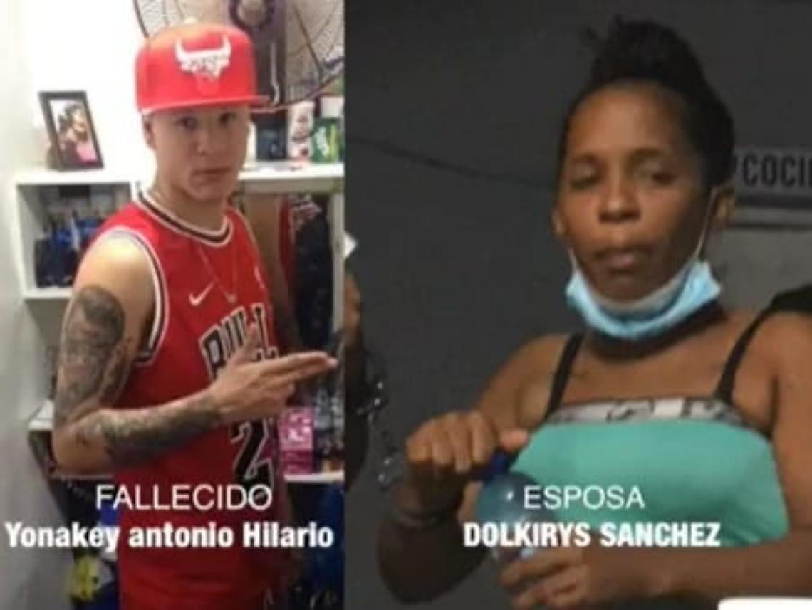 Yonakey Hilario y Dolkirys Sánchez