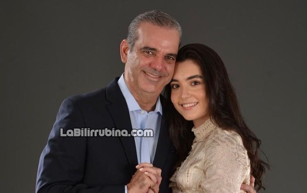Luis Abinader y su hija Adriana Margarita