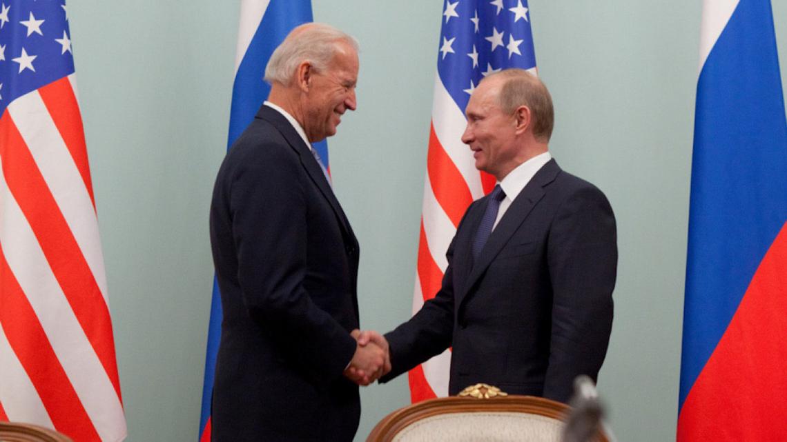 Joe Biden Vladimir Putin