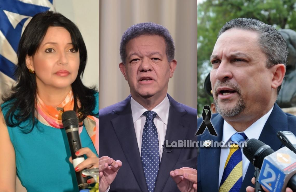 Sandy Lockward, Leonel Fernández y César Prieto