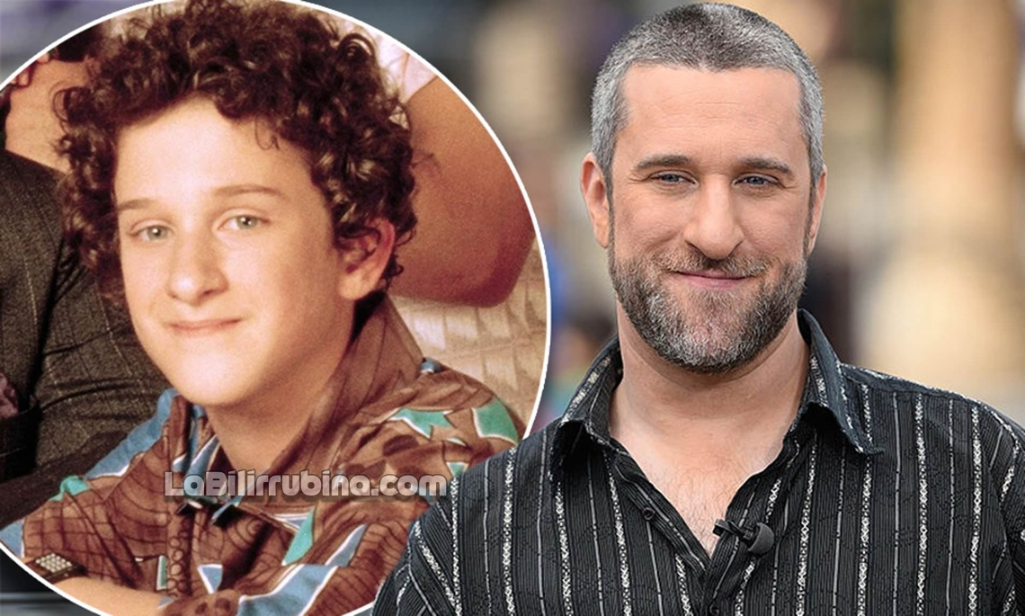 "El actor Dustin Diamond (Screech) de la serie ""Salvados por la Campana"""