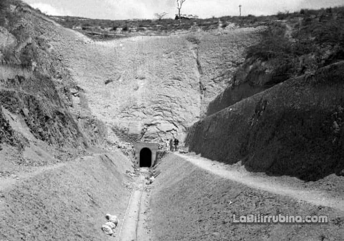 El túnel de Altamira, Puerto Plata, 1916