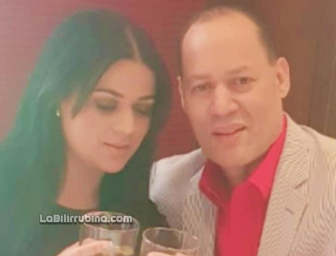 Franklin Mirabal y Penny Báez