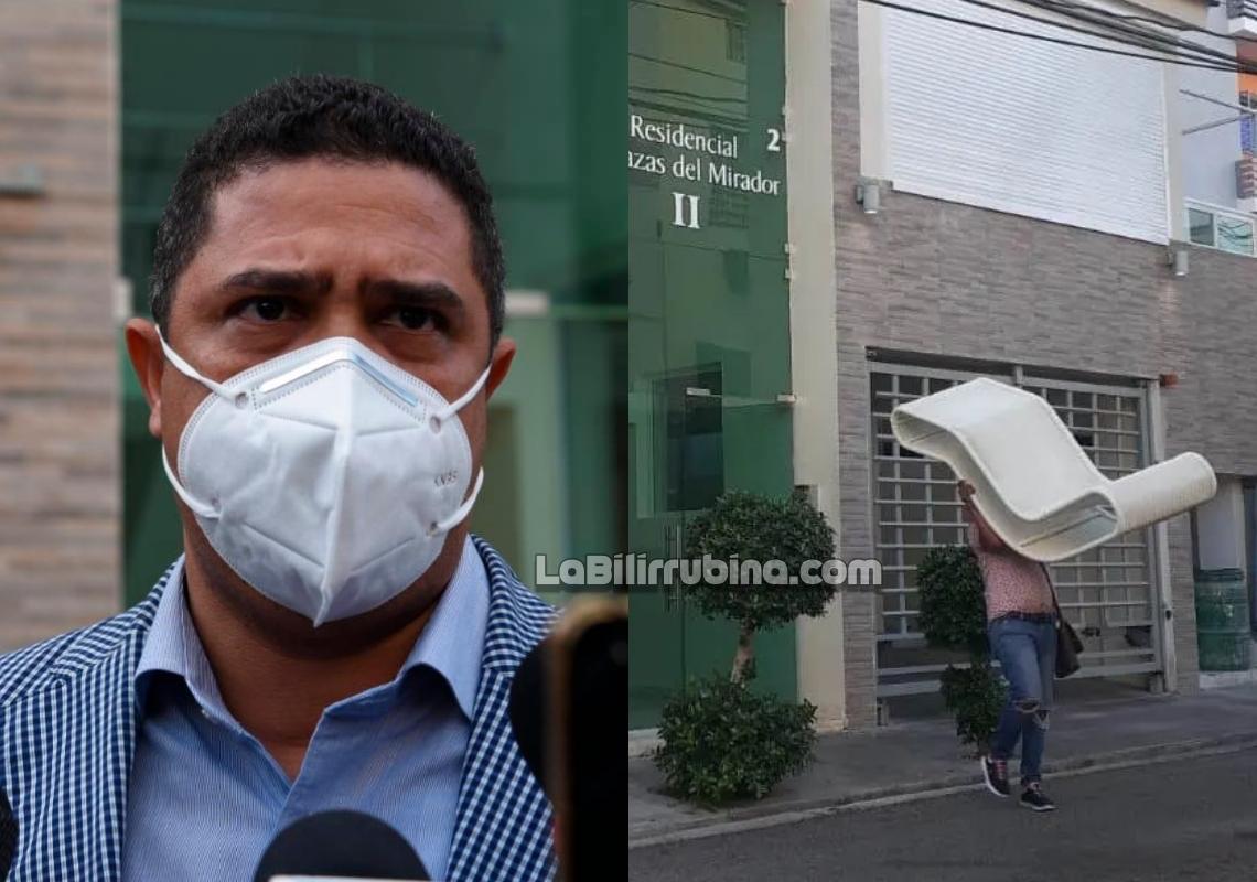 El abogado Leandro Taveras